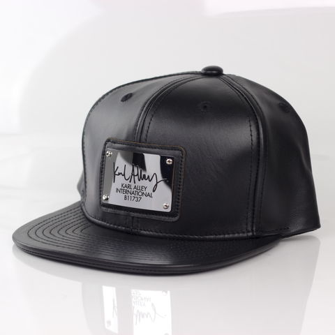 Karl,Alley,Signature,Snapback,(Leather,-,Archive),Karl Alley, Karl Alley Signature Snapback, leather, plate, snapback, hat, boy london