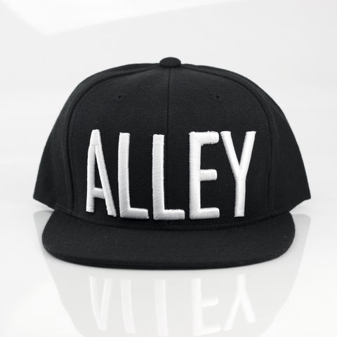 Alley,Block,Snapback,Karl Alley, Alley, Vogue, Metal, plate, snapback, hat, boy london