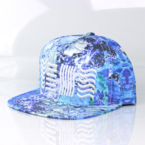 Water,Snapback,(5,Elements),Karl Alley, Water, 5 elements, Metal, plate, snapback, hat, boy london