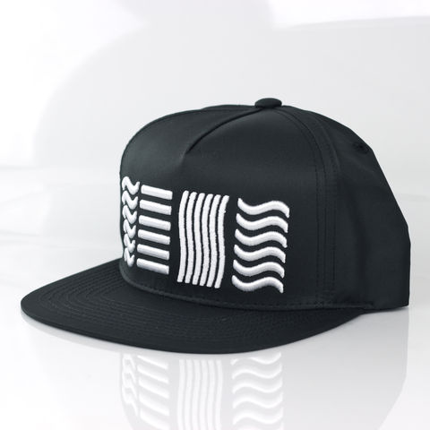 Black,Snapback,(5,Elements),Karl Alley, Black, 5 elements, Metal, plate, snapback, hat, boy london