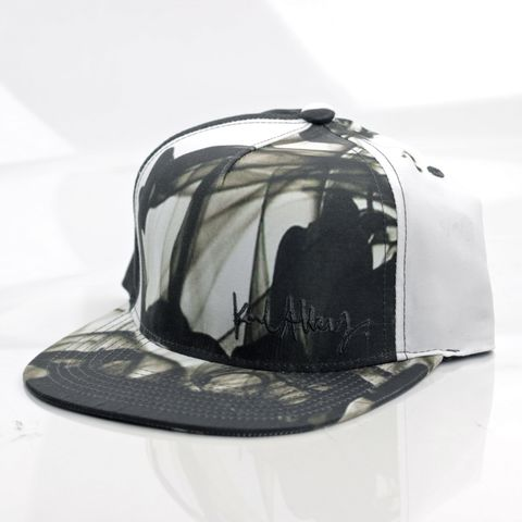 Smoke,Snapback,Karl Alley, Smoke, Metal, plate, snapback, hat, boy london