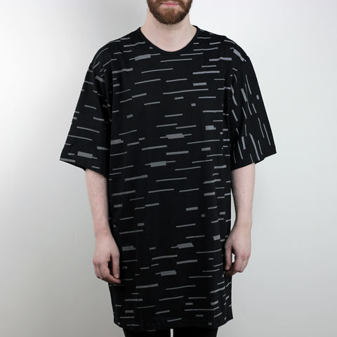 Silent,Reflection,-,Glitch,Tee,Karl Alley, Shaun Bass, Glitch, Reflective, 3M, T-shirt, tee, long clothing, boy london