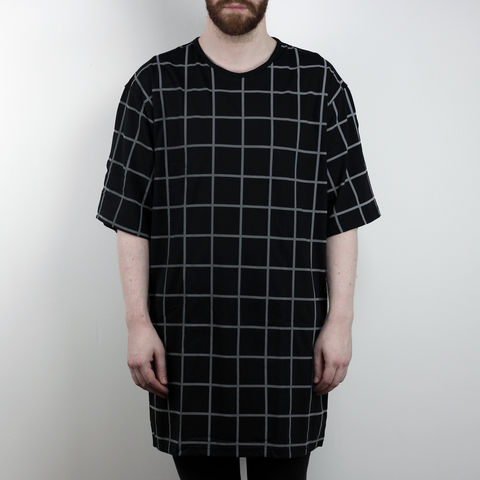Silent,Reflection,-,Grid,Tee,Karl Alley, Shaun Bass, Grid, Reflective, 3M, T-shirt, tee, long clothing, boy london