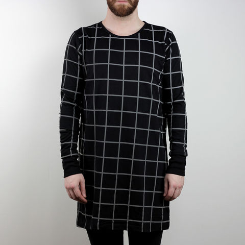 Silent,Reflection,-,Grid,Longsleeve,Karl Alley, Shaun Bass, Grid, Reflective, 3M, T-shirt, tee, long clothing, boy london
