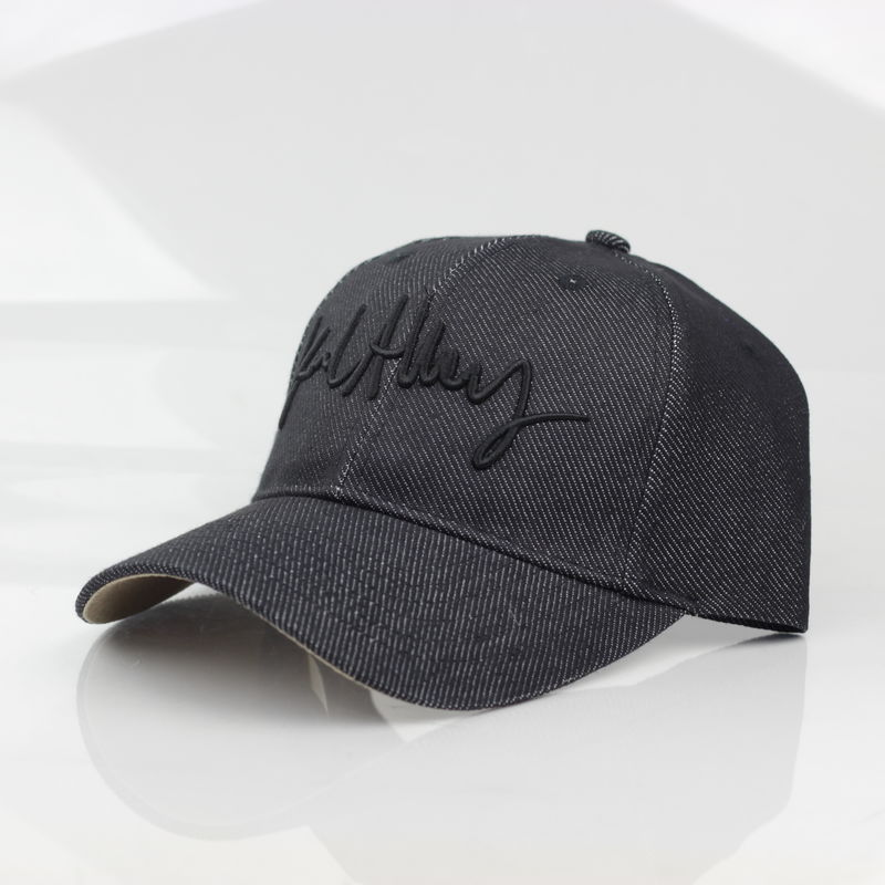 Signature Denim Strapback (Black) - product images  of