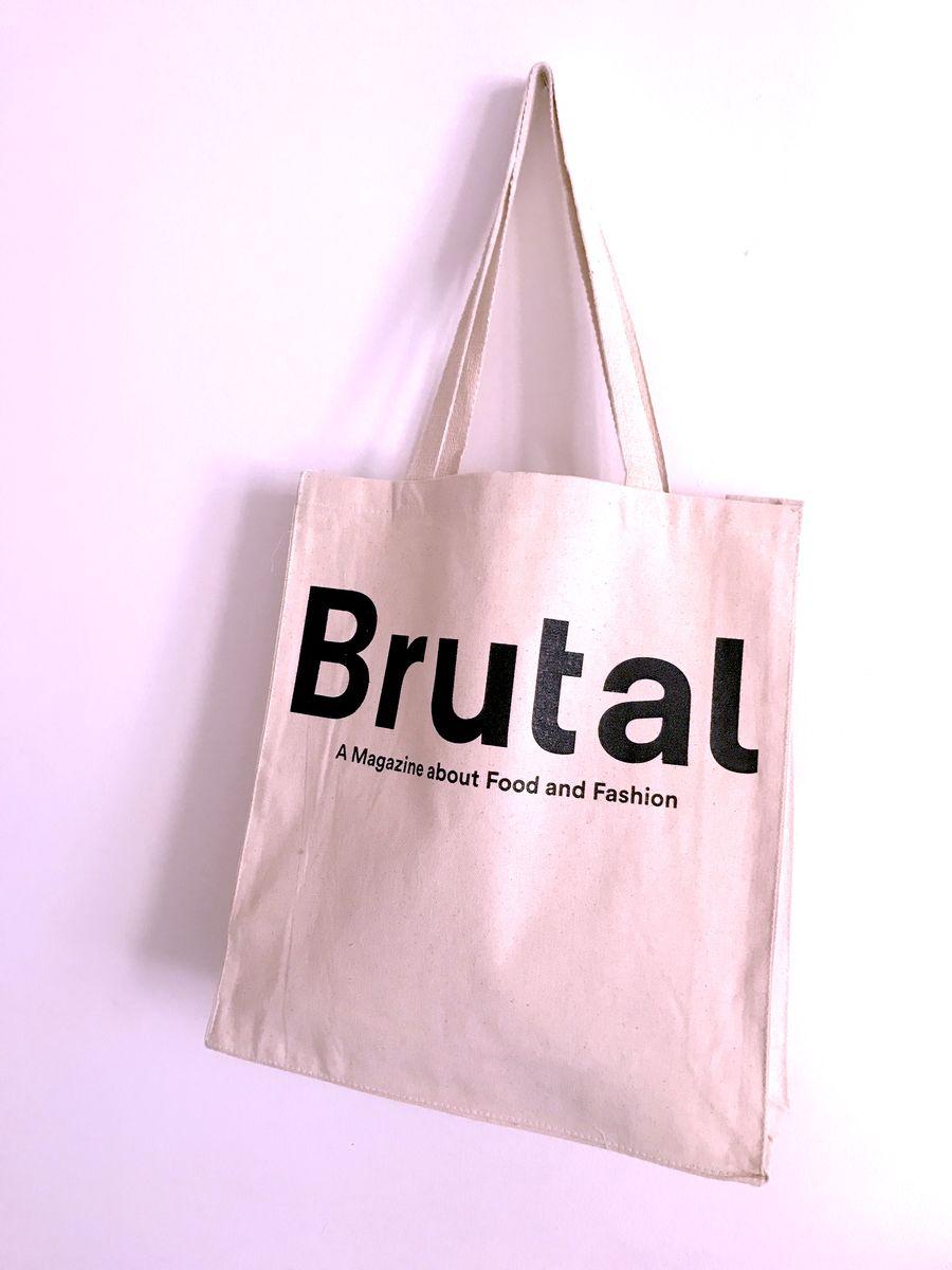 Brutal Magazine E Tote Bag