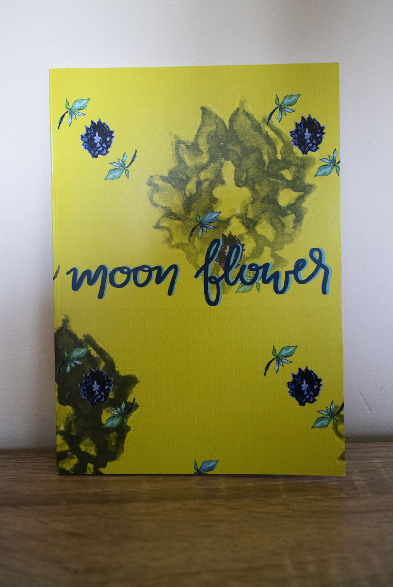 Moon Flower A5 notebook - product images  of