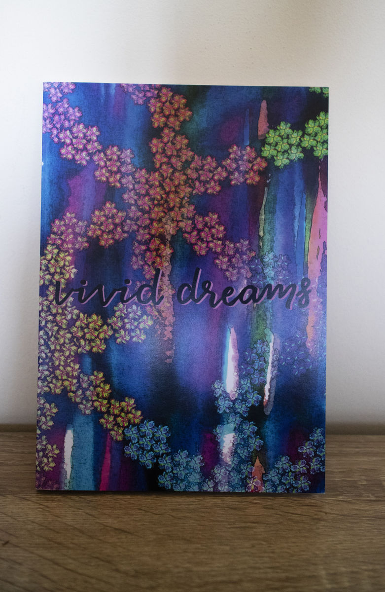 Vivid Dreams A5 notebook - product images  of