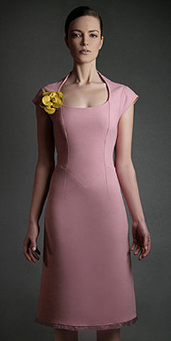 Sophisticated,Pink,dress, tailored dress