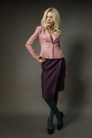 Wool,And,Silk,Origami,Seamed,Jacket,wool, silk, satin, jacket, tailoring, summer, fashion