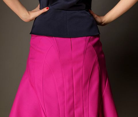 Origami seam skirt - product images  of