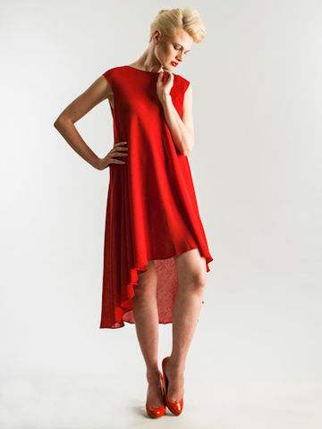 The,perfect,dress, Dress, red, asymmetric, short