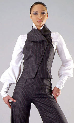 Tailored,waistcoat,and,trousers,Suit, Wool, Jacket, Trouser suit, Waistcoat, Womens suit, Womens trouser suit