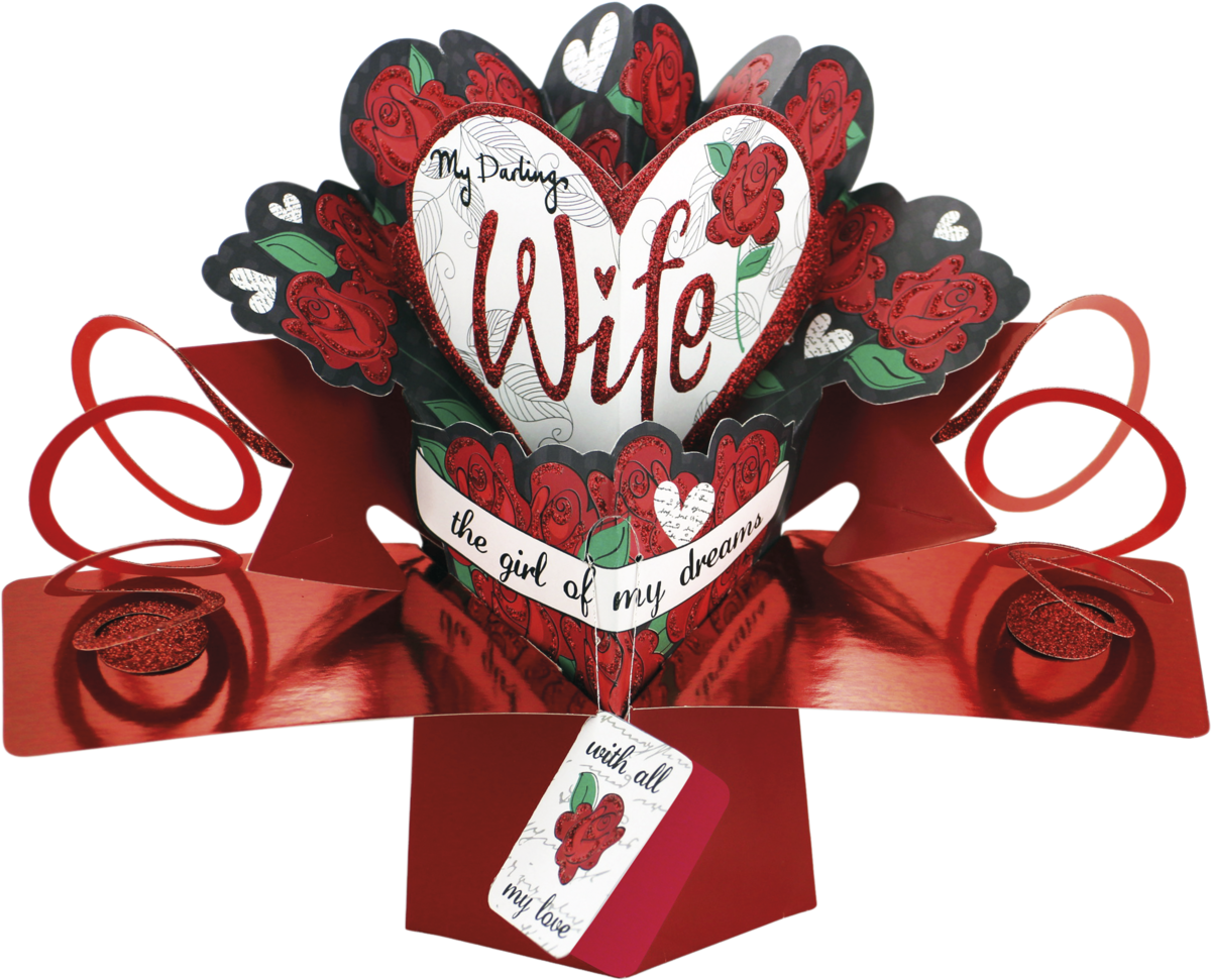 Second Nature Valentines Day Pop Ups Wife Roses Second Nature