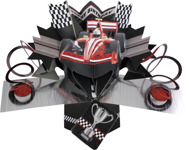 Second Nature Pop Ups - Racing Car - product images