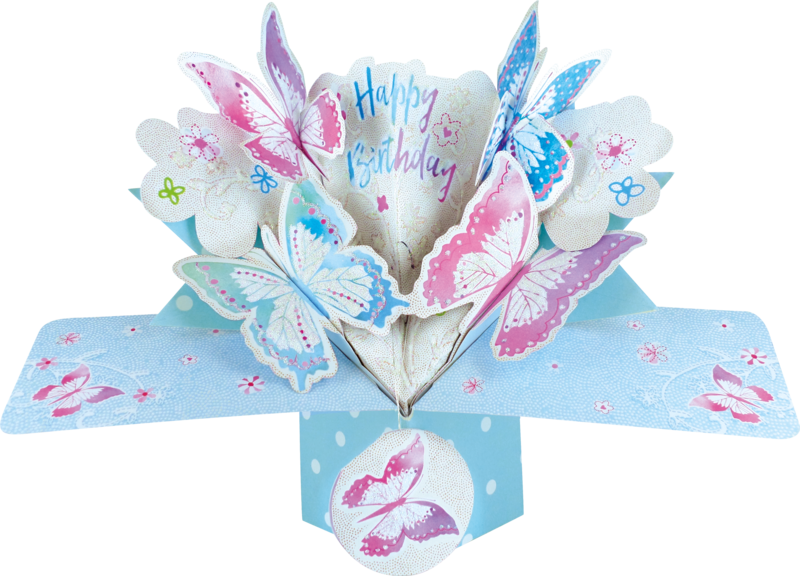 Second Nature Pop Ups - Butterflies - product images