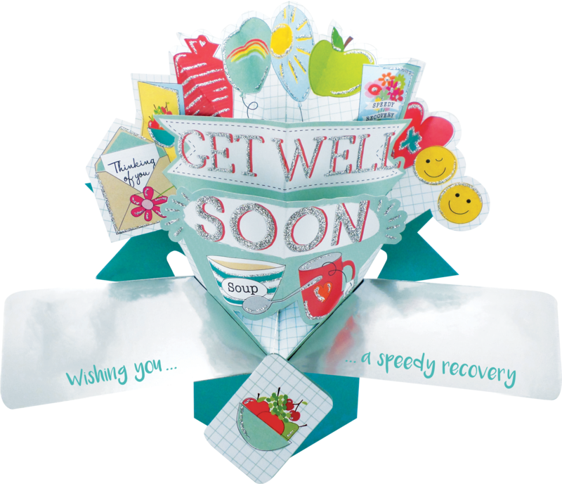 Second Nature Pop Ups - Get Well (Icons) - product images