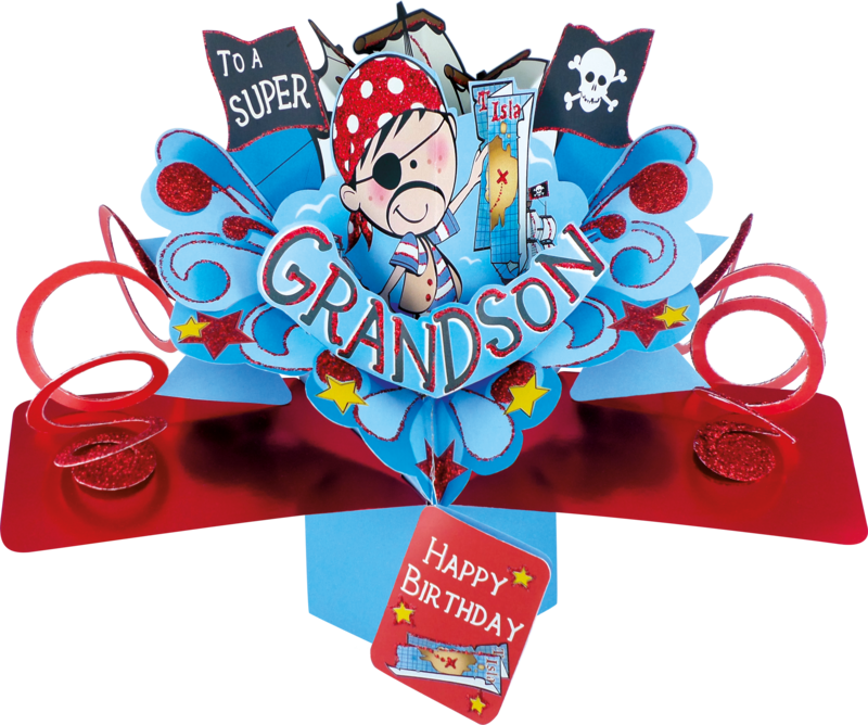 Second Nature Pop Ups - Grandson (Pirate) - product images