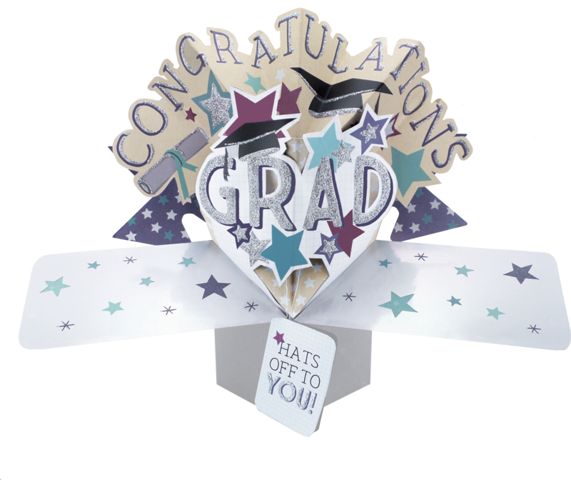 Second Nature Pop Ups - Graduation Congratulations (Icons) - product images