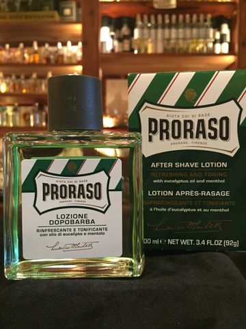 Eucalyptus,&,Menthol,Aftershave,Lotion,proraso, aftershave, lotion,