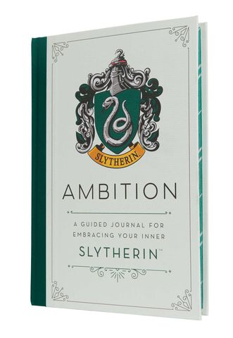 Harry,Potter:,Ambition,A,Guided,Journal,for,Embracing,Your,Inner,Slytherin,Harry Potter-Slytherin-Journal