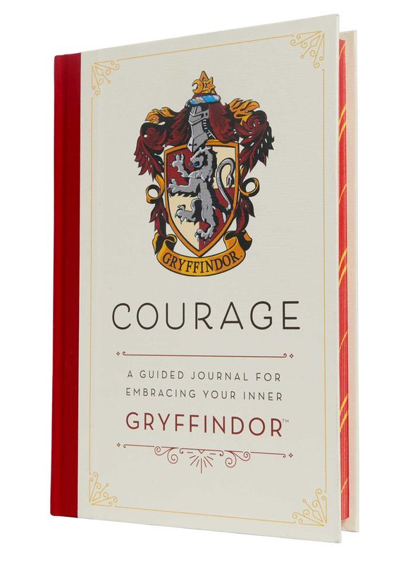 Harry Potter: Courage A Guided Journal for Embracing Your Inner Gryffindor - product image