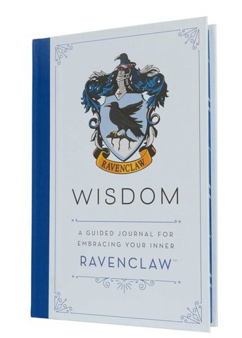 Harry,Potter:,Wisdom,A,Guided,Journal,for,Embracing,Your,Inner,Ravenclaw,Harry Potter-Ravenclaw-Journal