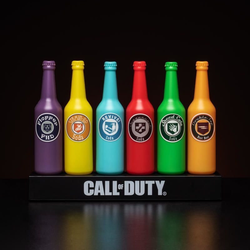 Officially Licensed Call of Duty Epic Six Pack Desktop Light - product images  of