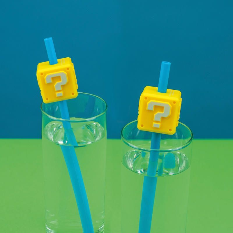 Officially Licensed Super Mario Straws- 2 Straws in 1 Pack - FREE P&P! - product images  of