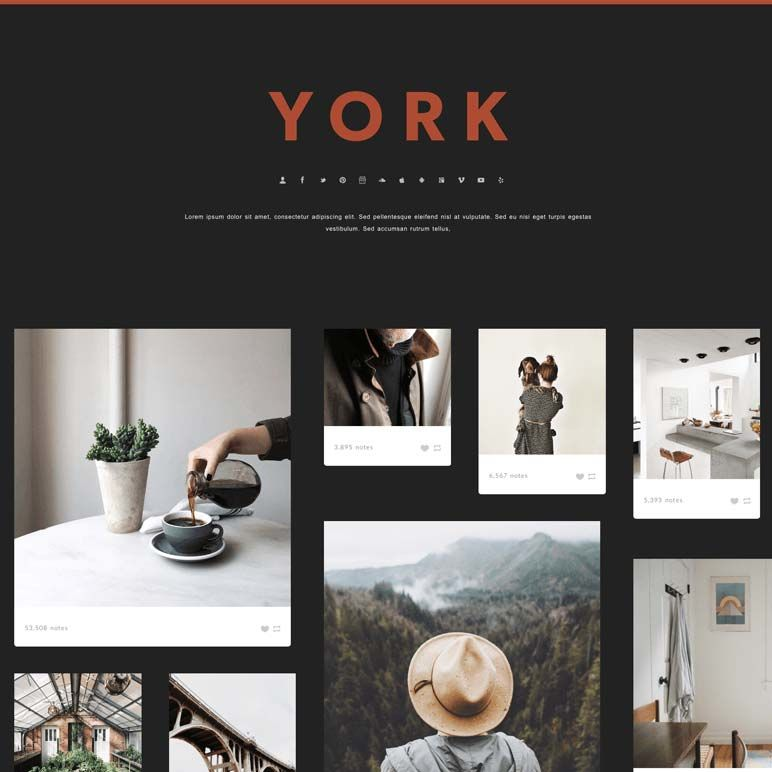 Look book page - product images  of