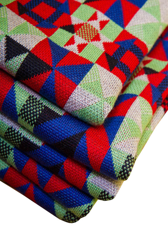 Merino Pram or Buggy Blanket - Primary colourway - product images  of