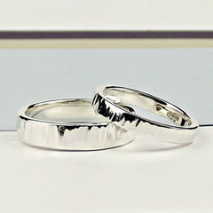 Sterling,Silver,Wedding,Ring,-,Polished,Ripple,Finish,sterling silver wedding ring, sterling silver wedding band, silver wedding ring, wedding ring, commitment ring, promise ring, handcrafted silver wedding ring, silversynergy, silver synergy