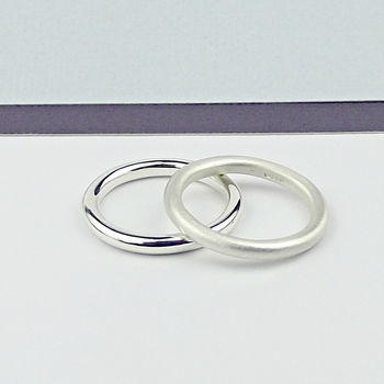 Simple Handcrafted Sterling Silver Rings - product images  of
