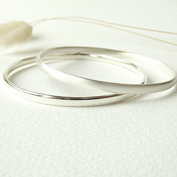 Handcrafted Sterling Silver Bangle - product images  of