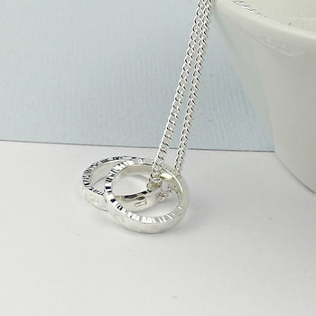 Secret Silver Personalised Silver Necklace - product images  of