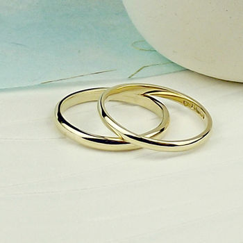 Solid Nine Carat Gold Wedding Ring - product images  of