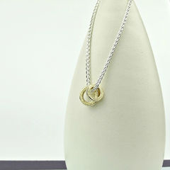 9ct,Gold,Threads,Necklace,Element,gold necklace, silver necklace