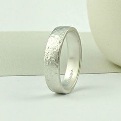 Sterling,Silver,Wedding,Ring,-,Terra,Texture,Matte,Finish,sterling silver wedding ring, sterling silver wedding band, silver wedding ring, wedding ring, commitment ring, promise ring, handcrafted silver wedding ring, terra texture ring, organic surface texture ring, silversynergy, silver synergy
