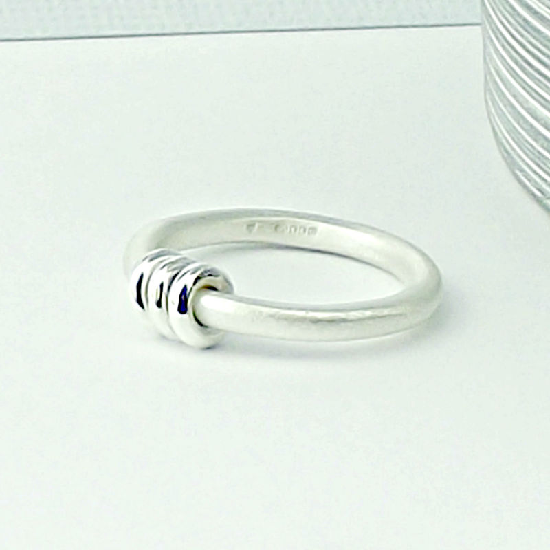 Sterling Silver Abacus Ring - product images  of