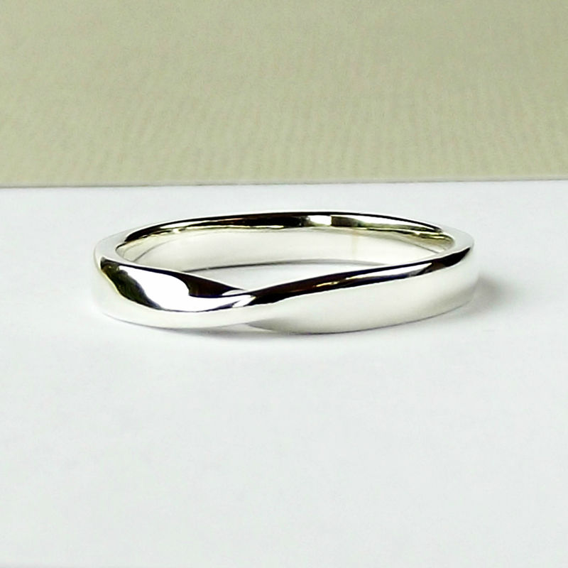 Sterling Silver Möbius Ring - product images  of