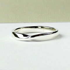 Sterling,Silver,Möbius,Ring,silver ring, sterling silver ring, silver wedding band, sterling silver wedding band, silver wedding ring, sterling silver wedding ring, wedding ring, mobius ring, sterling silver mobius ring, twist ring, silversynergy