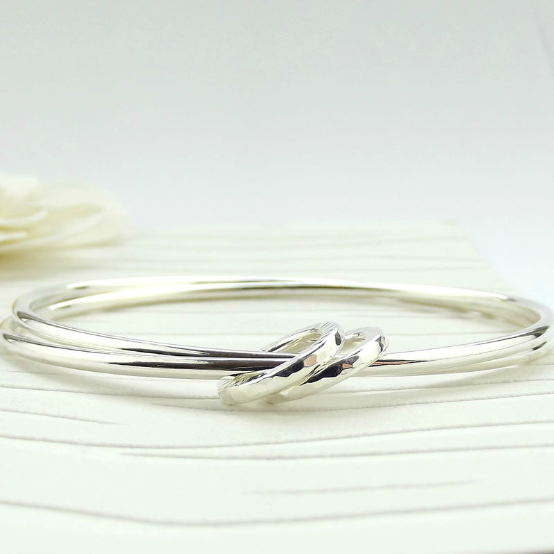 Sterling Silver Eternity Bangle - product images  of
