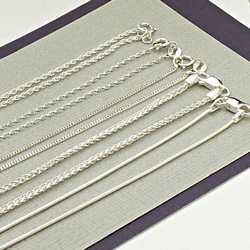 Sterling Silver Chains - product images  of