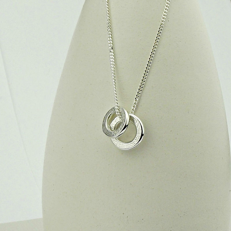 Silver Threads Slider Necklace - product images  of