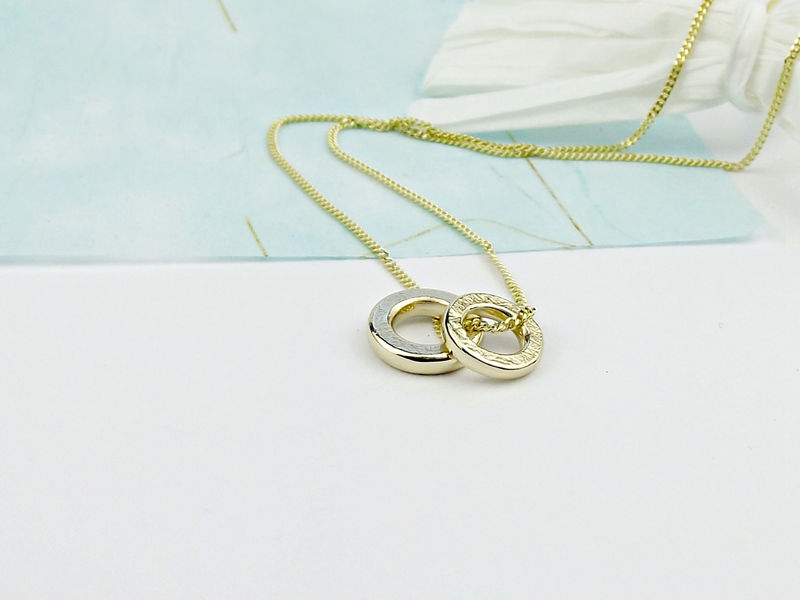 9ct Gold Threads Necklace - product images  of