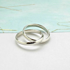 Sterling,Silver,Interlinked,Ring,silver ring, linked ring, interlinked ring, simple silver ring, eternity ring, infinity ring, double ring, silver wedding ring, silver commitment ring, silversynergy