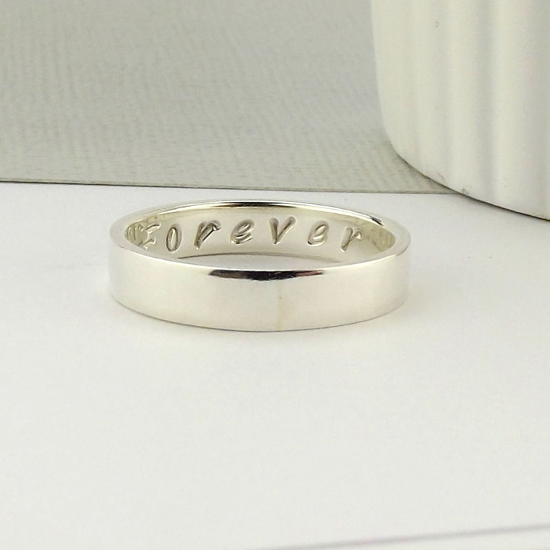 Silver Message Ring - product images  of