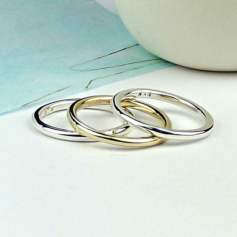 Sterling Silver Stacking Rings - product images  of
