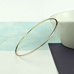 Slim,9ct,Gold,Bangle,gold bangle, slim gold bangle, skinny gold bangle, 9ct gold bangle, silversynergy