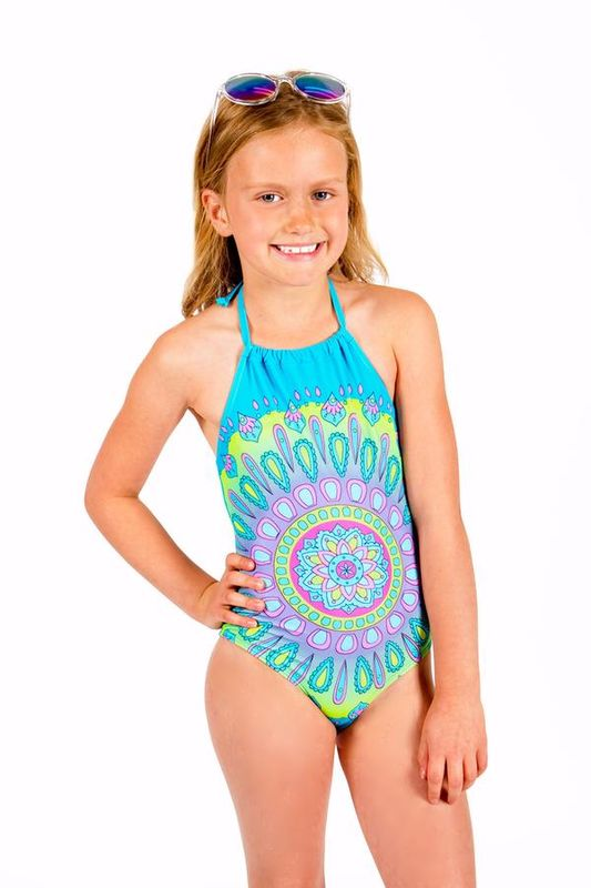 60% off Limeapple Arvia Printed Girls Swimsuit - product images  of